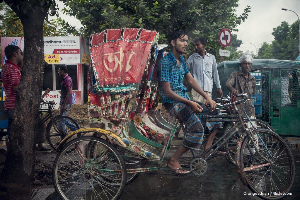 Popularny w Bangladeszu środek transportu